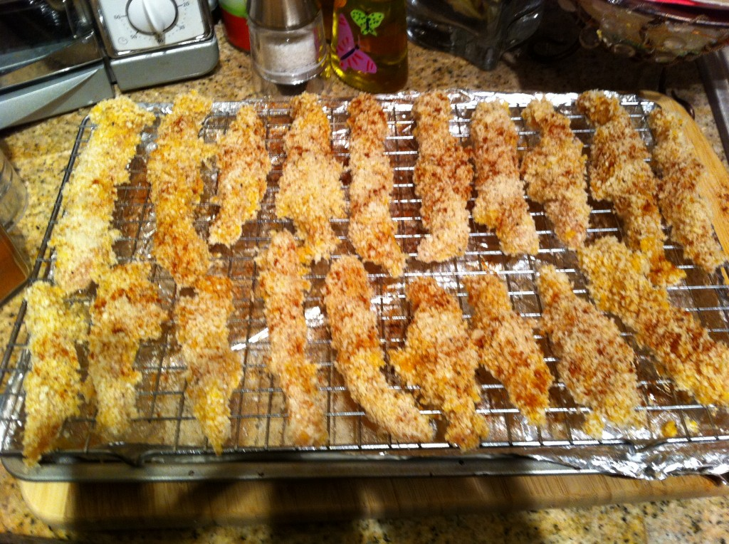 photo2 1024x764 Healthy, Crunchy, Panko Crusted Chicken Fingers