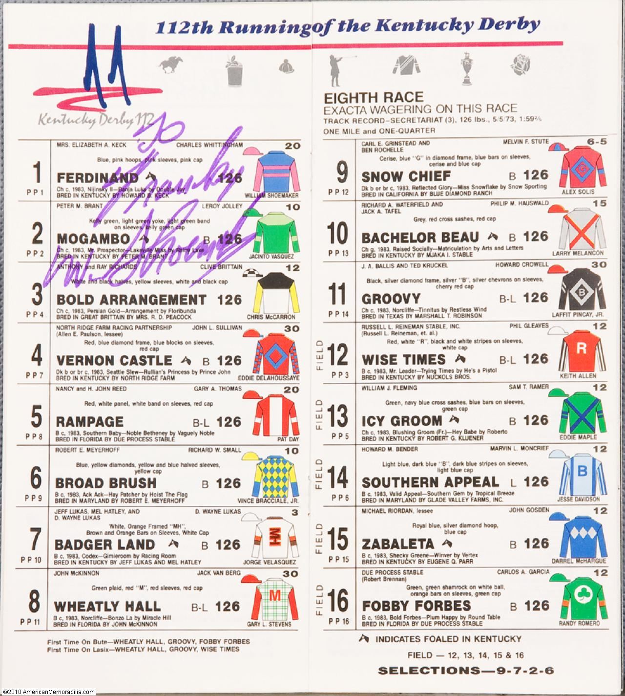 photo about Printable Kentucky Derby Field called Web site Archives - sticklinoa