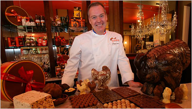 Chocolate, Jacques Torres, the chocolatier extraordinaire with Jacques ...