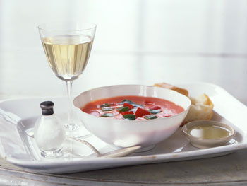 Classic Andalusian Gazpacho from Cádiz, Spain
