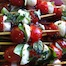 Thumbnail image for Caprese on a Stick : Cherry Tomato, Mozzarella & Basil Skewers