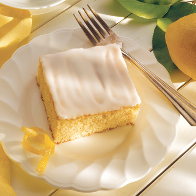 Post image for Lemon Snack Cake