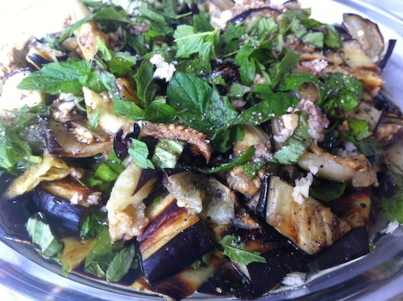 Melanzane Arroste Sottoaceto – Roasted Eggplant in Balsamic Vinegar