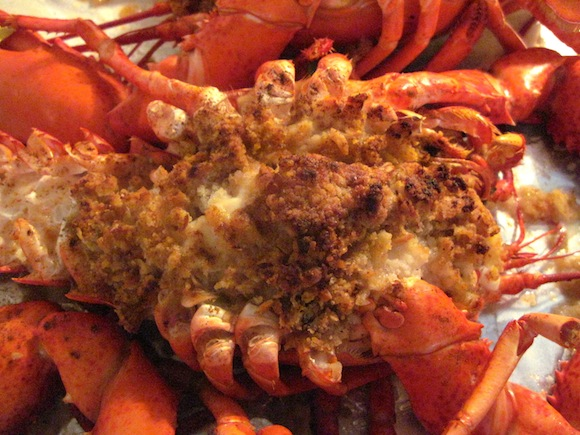 Baked Stuffed Lobster Recipe | A Summer Cookout from a Famous New ...