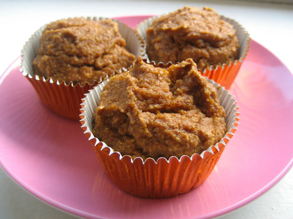 Post image for Healthy Multigrain Pumpkin Muffins