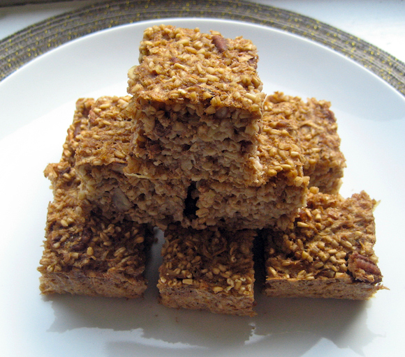 Apple-Cinnamon Oat Squares Recipe