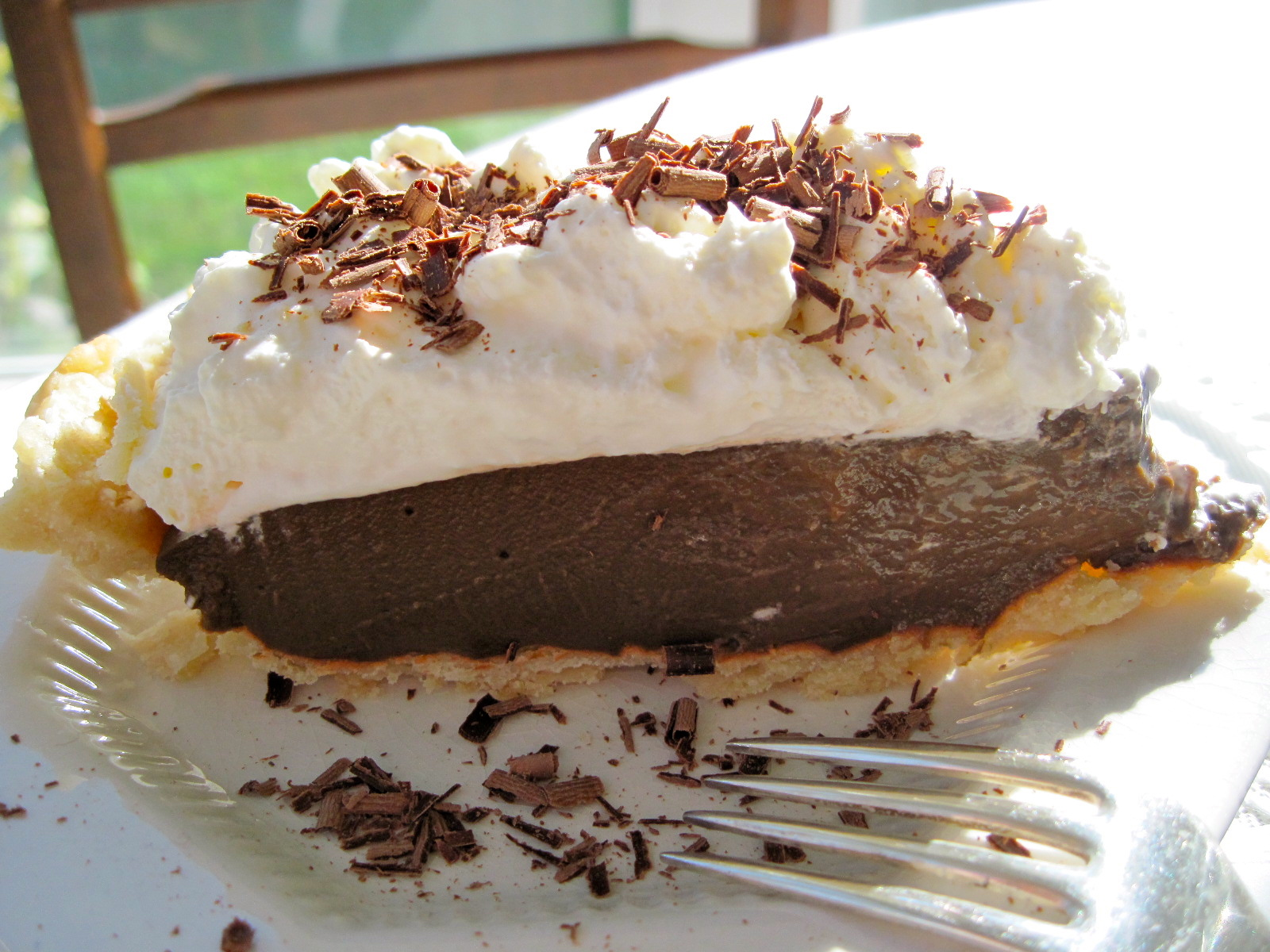 Chocolate Cream Pie — the chic brûlée