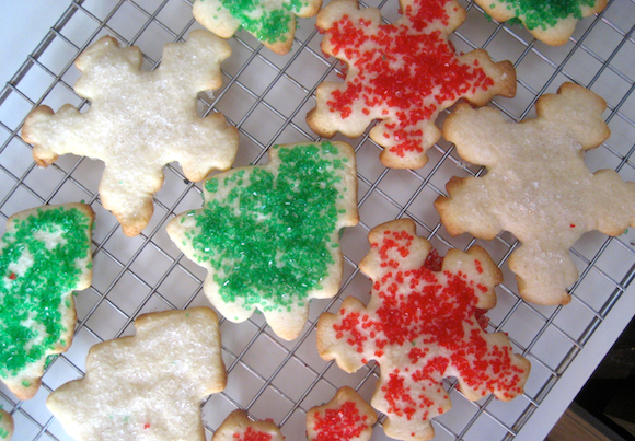 Post image for Christmas Cutout Sugar Cookies