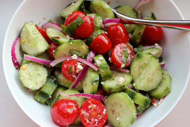 ... and refreshing summer tomato cucumber salad this fresh and cool
