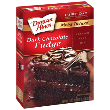 duncan hines dark chocolate cake mix recipes