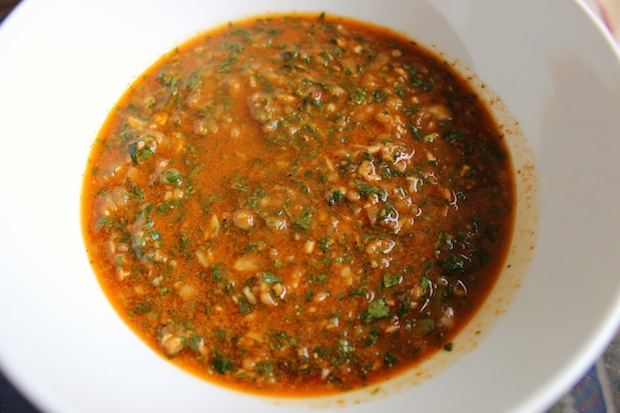 how to make chimichurri without a food processor