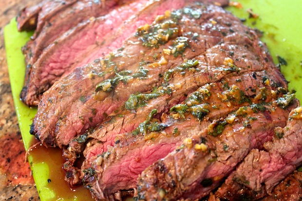 Chimichurri Flank Steak