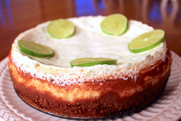 Post image for Margarita Cheesecake