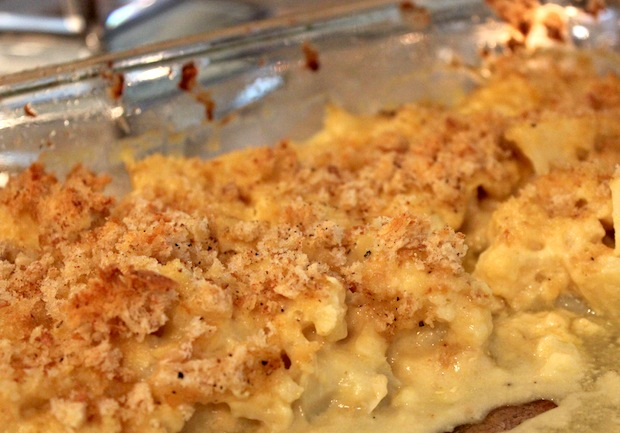 "Post image for Cauliflower ""Mac & Cheese"""