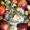 Thumbnail image for Fall Roasted Chicken with Apples & Sage
