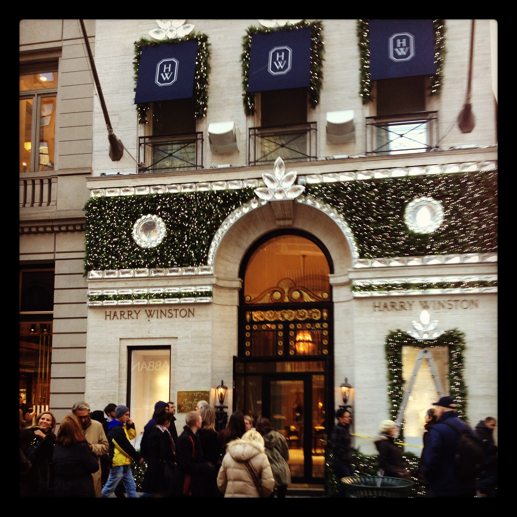 Harry Winston at Christmas