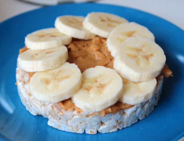 Post image for Almond Butter Rice Cakes