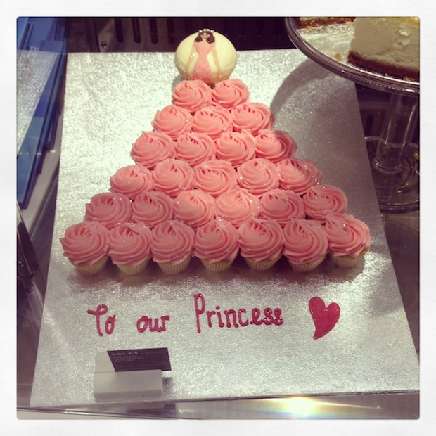 Princess Cake at Lola's Cupcakes