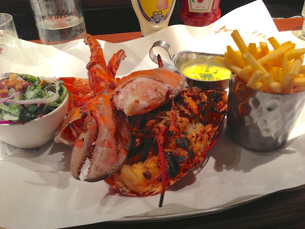 Post image for Burger & Lobster
