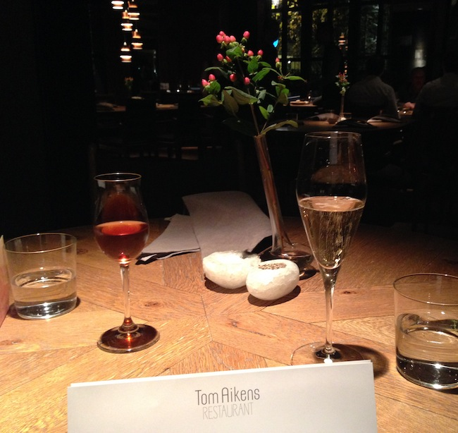 Tom Aikens Restaurant, Chelsea
