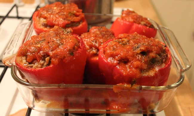 IMG 5885 Italian Style Stuffed Peppers