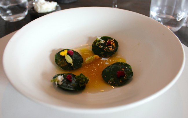 Noma - Shrimp and Ramson