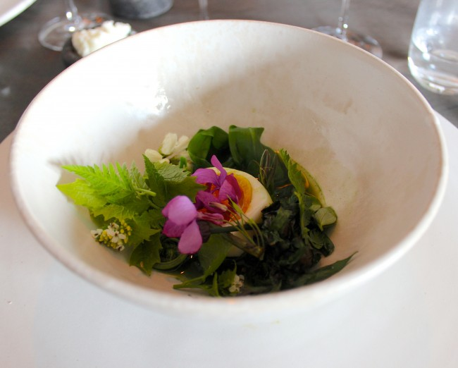Noma - Egg and Greens